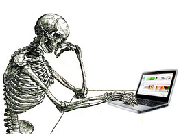 skeleton reading web content