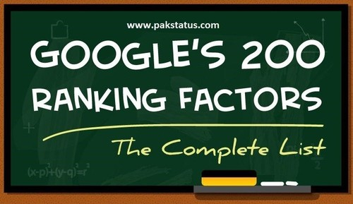 Check PageRank Factors