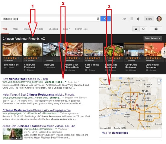Google Local Ranking Picture 1